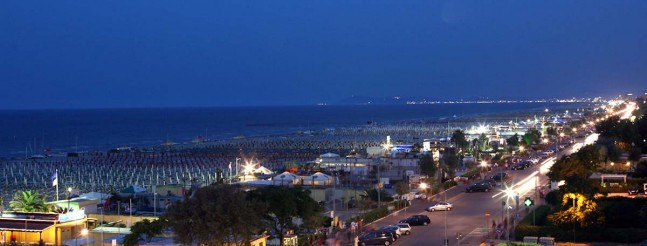 Rimini by Night